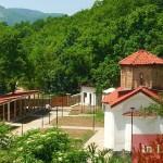 Реновираният манастир Св.Николай Летни в с.Пещера