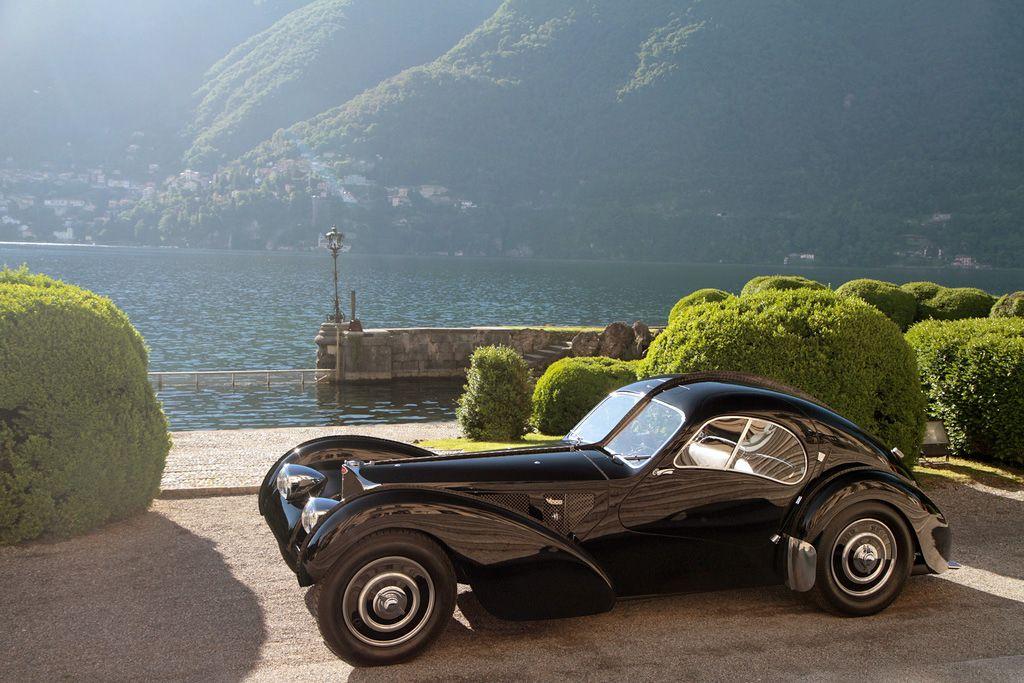 bugatti 57SC Atlantic - автомобил на Ралф Лорън