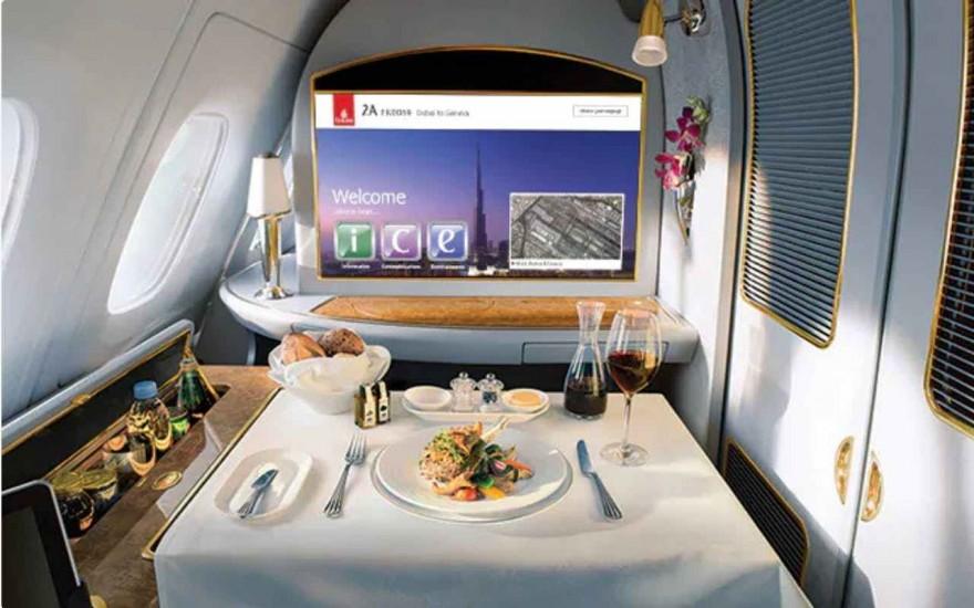 Най-скъпите ястия в самолетите