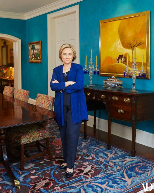 Домът на семейство Клинтън