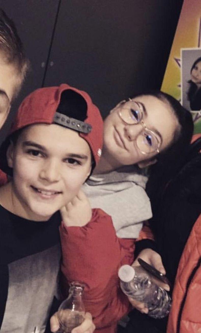 Крисия и Валери Божинов Младши
