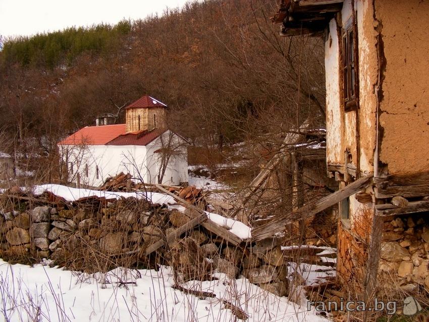 Пещерският манастир преди реновацията