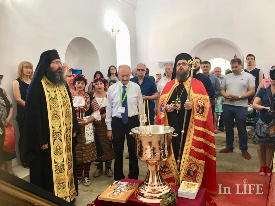 Епископ Поликарп освети реновирания Пещерски манастир