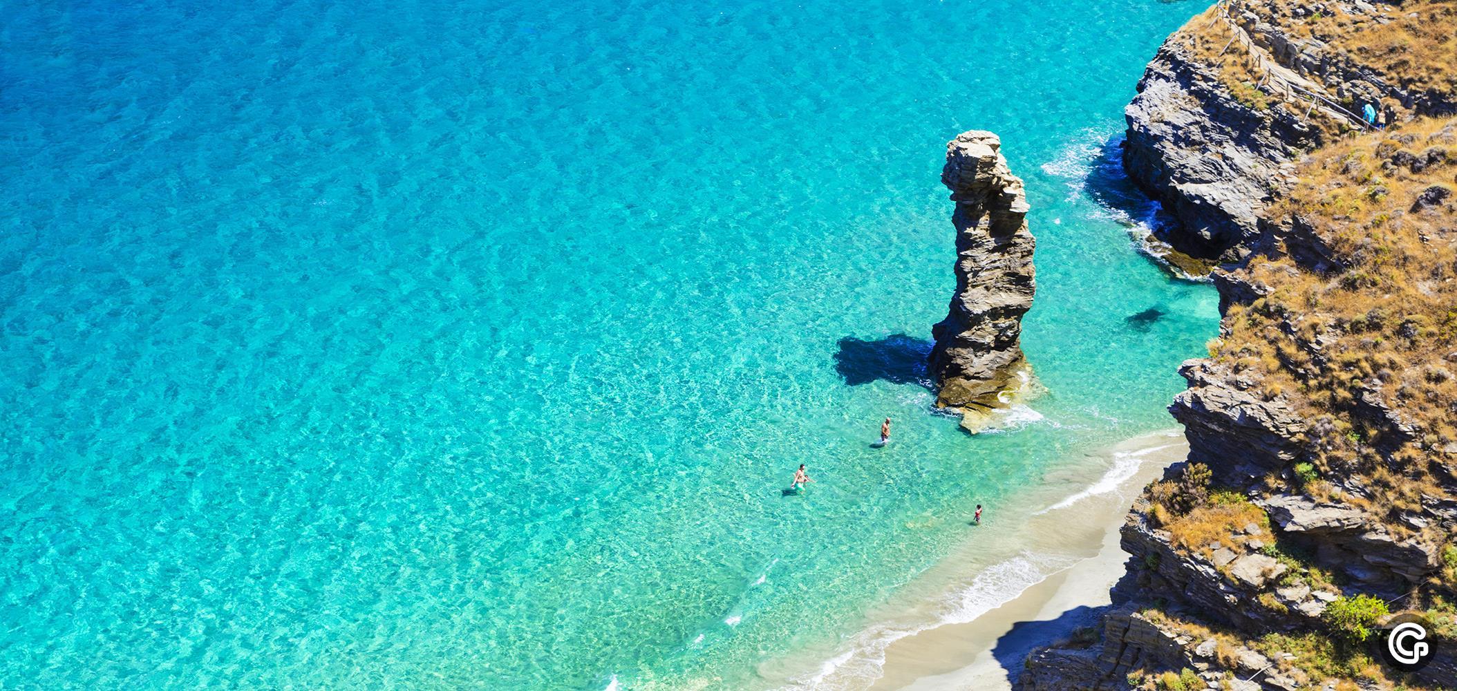 Остров Андрос, Гърция