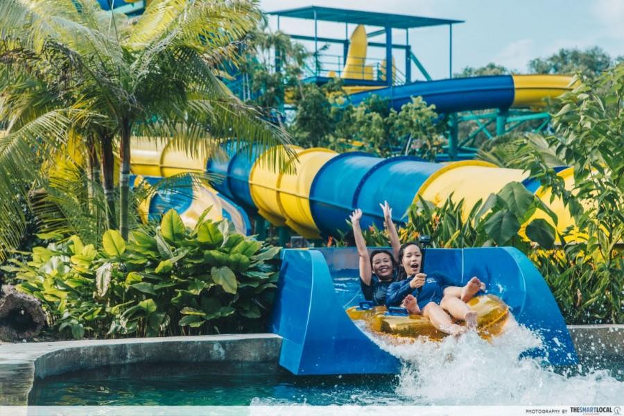 Най дългата водна пързалка - Малайзия