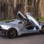 Tushek TH 900 - най-лекият супер автомобил в света