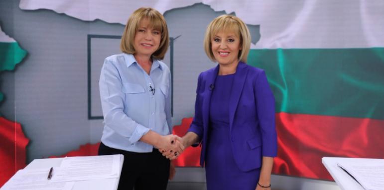 Йорданка Фандъкова и Мая Манолова