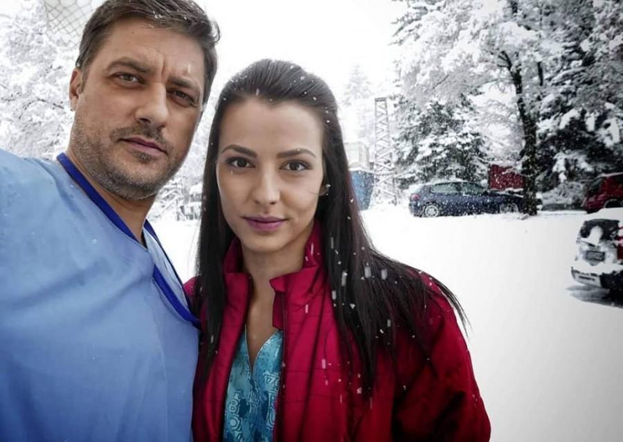 """Владо и екранната му любов Неда Спасова в """"Откраднат живот"""""""