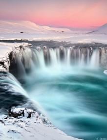 Исландия - езеро