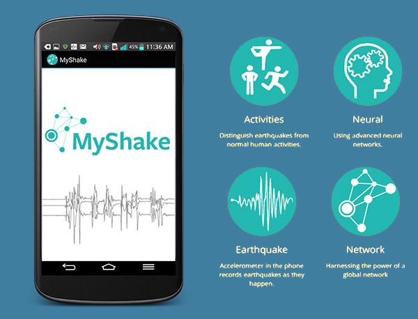 Приложение предупреждава за земетресения - MyShake