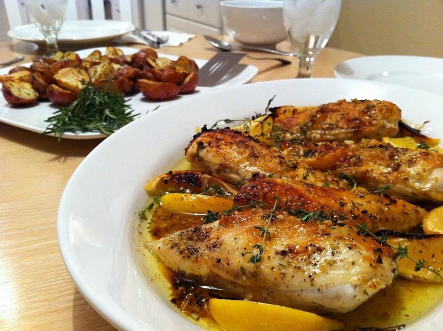пилешки-гърди-с-лимон-и-чесън
