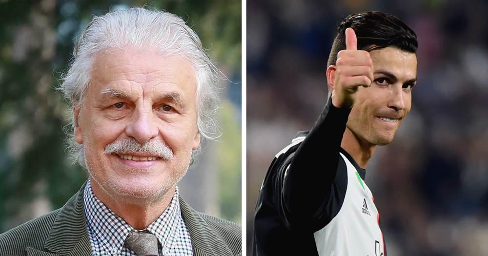 Кристиано Роналдо и Микеле Плачидо